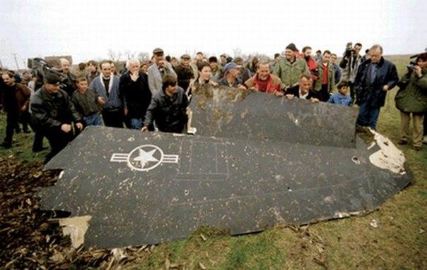 27 марта 1999 первый в мире сбитый «стелс» НАТО в Югославии ...