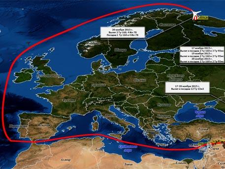 «Белые лебеди» облетели всю Европу, чтобы нанести удары возмездия по террористам