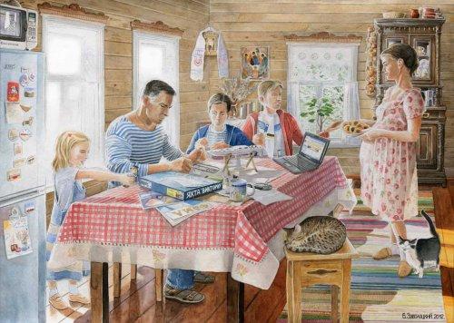 Семейка деревенская комиксы 65655 фотография