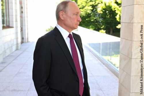 Bloomberg отметило возросшую роль Путина в мире